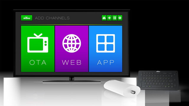 Mohu Channels Remote Box TV Add Channels