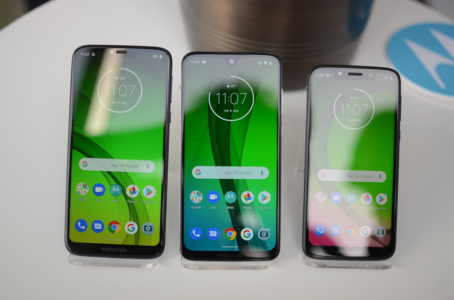 Moto G7 vs Moto G7 Plus vs Moto G7 Power vs Moto G7 Play ...
