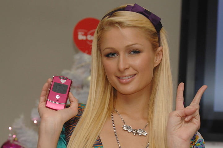 list of phone numbers from paris hiltons cell phone