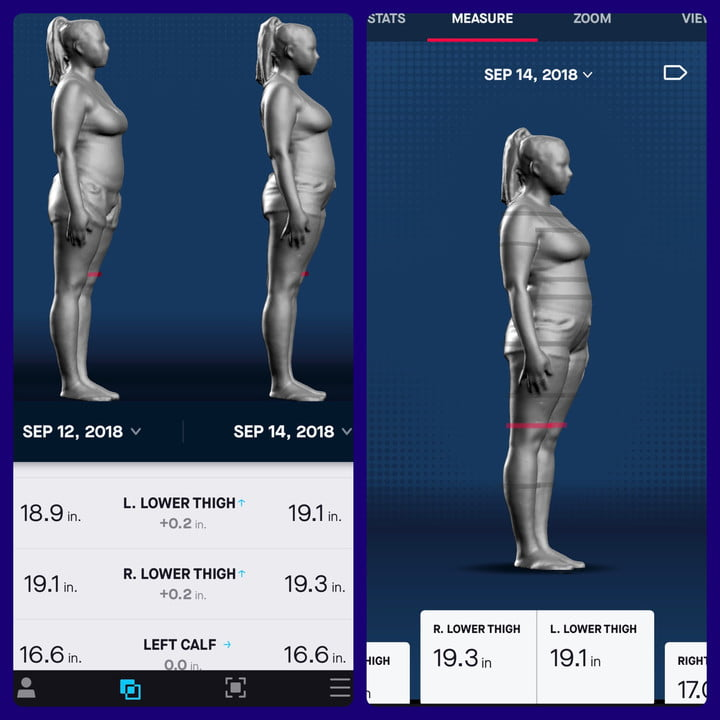 Naked Labs 3D Body Scanner Product Impressions | Digital Trends