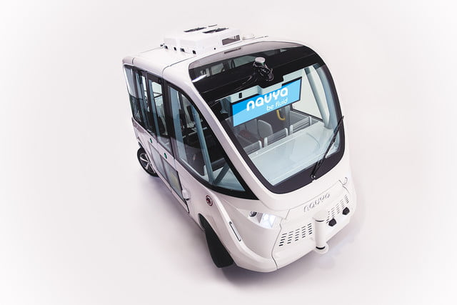 the challenges of driverless shuttles in smart cities navya autonomous shuttle 4