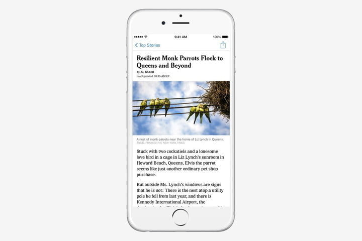 best iphone apps new york times ios