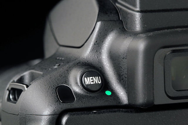 Nikon D5300 menu button