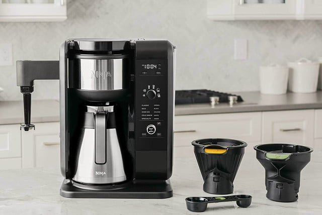 amazon ninja coffee maker deals hot and cold brewed system auto iq tea with thermal carafe 02
