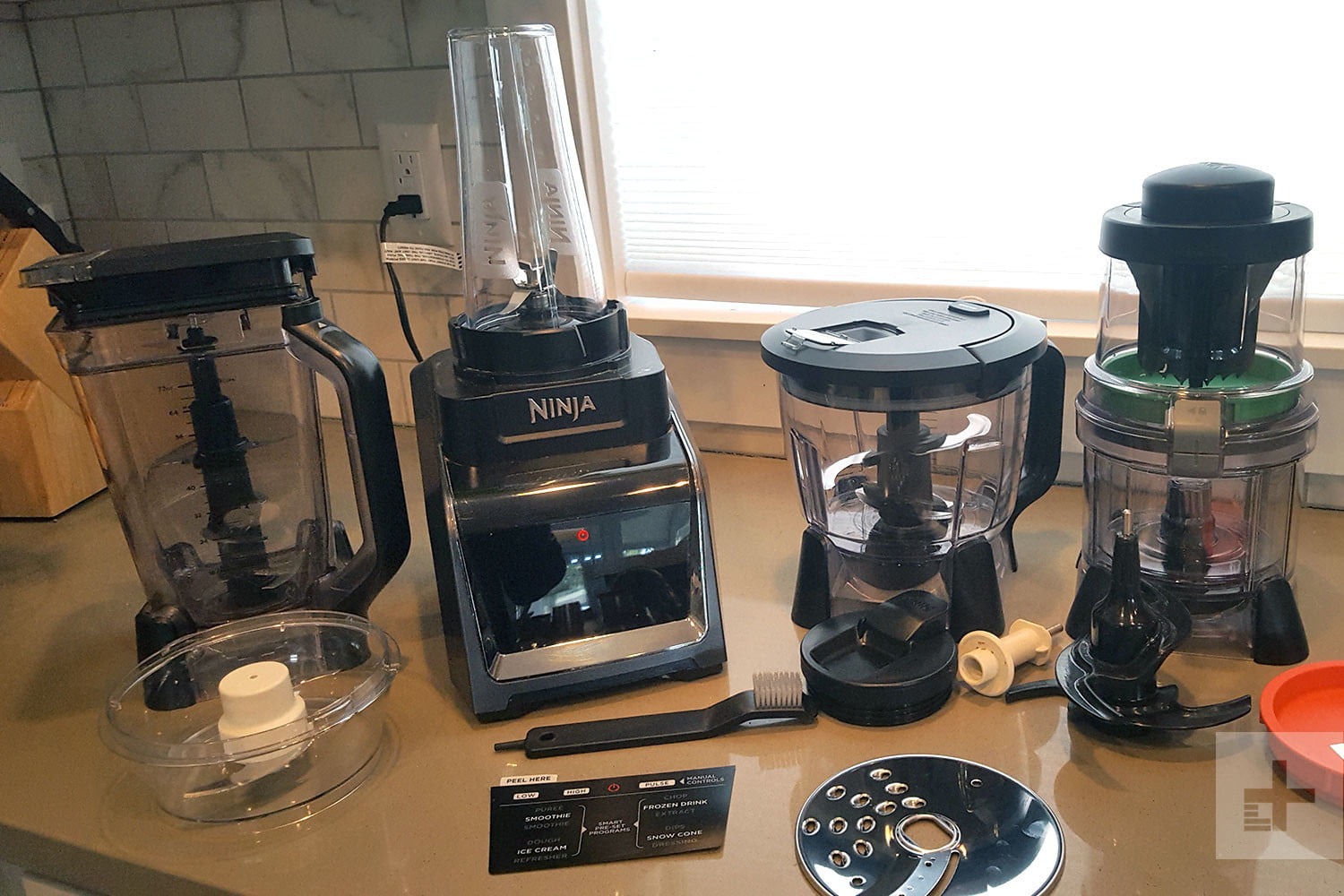 ninja blending all in spiralizer speed processor blender hero cup kitchen high products system