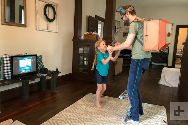 nintendo labo robot kit product experience review backpack