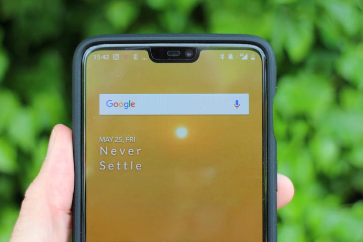 how to hide the notch oneplus 6 wallpaper