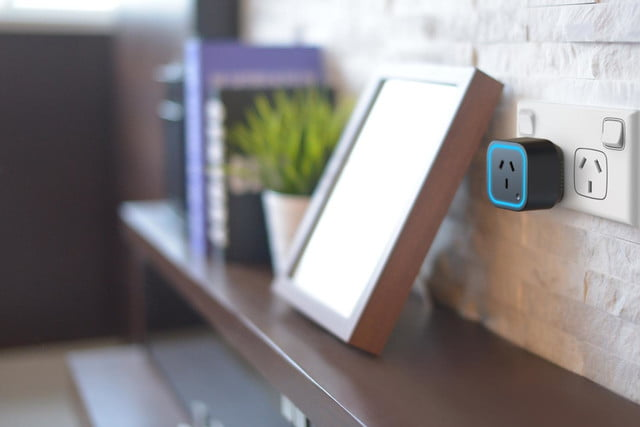 oomi is a tap and touch smart home hub connected system switch au black