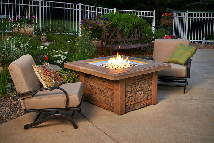 great gadgets to deck out your patio outdoor greatroom company sierra fire pit table