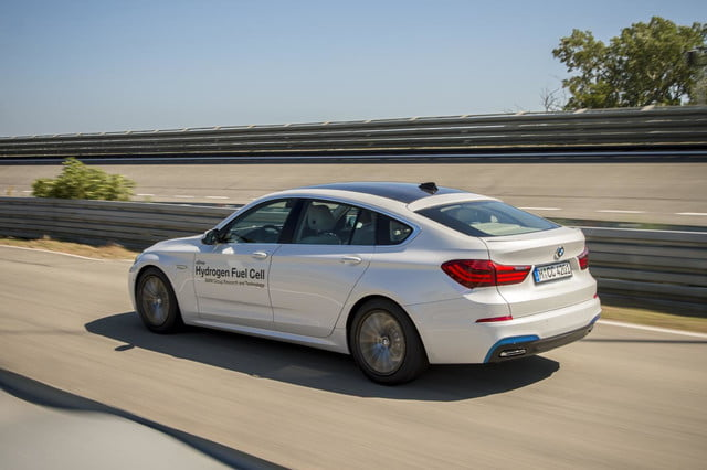BMW 5 Series GT hydrogen fuel-cell prototype
