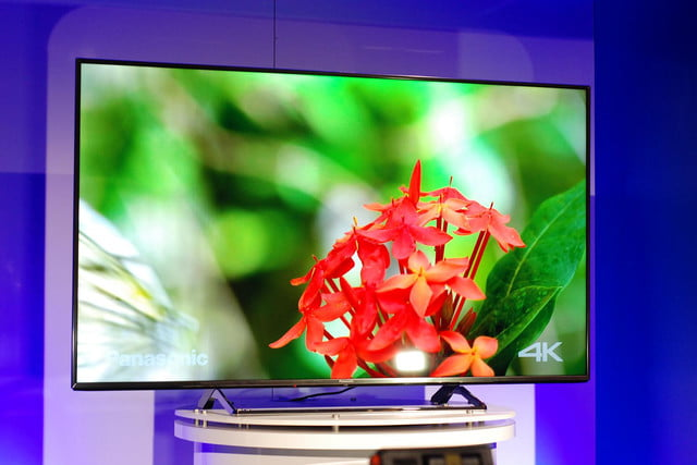 panasonic cx850 4k uhd tv at ces 2015 video 7