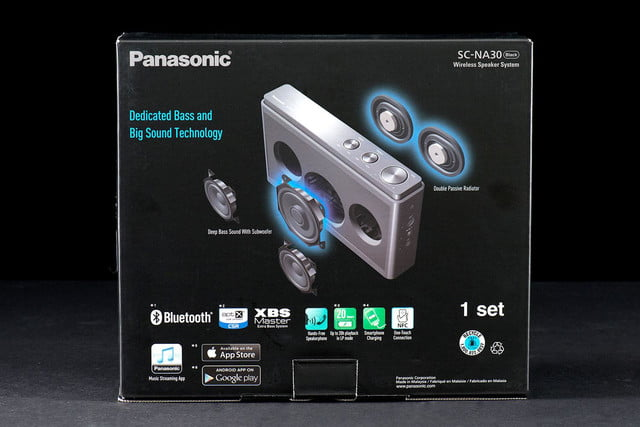 Pansonic SC NA30P box front