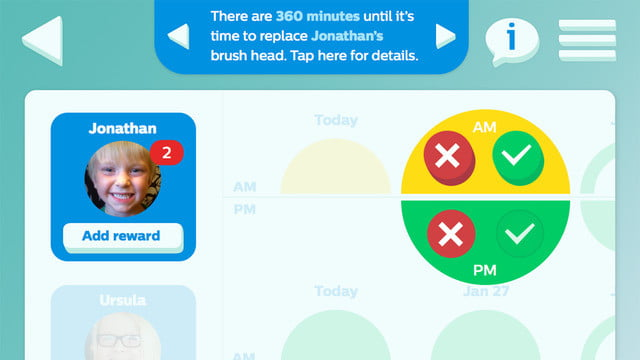 philips sonicare bluetooth toothbrush has a coaching app for kids screen 4