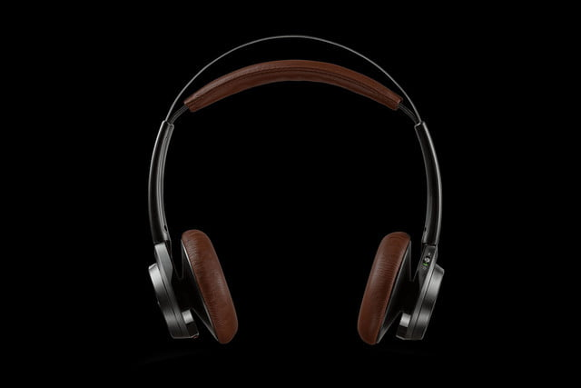 plantronics backbeat sense black straight on