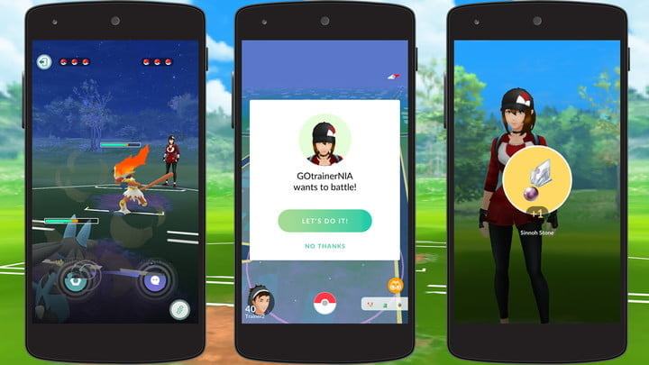 pokemon go how pvp and trainer battles work feature