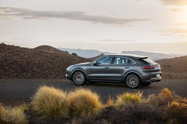the 2020 porsche cayenne coupe is all about style 7