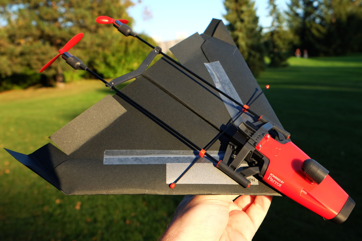 how to make a paper drone