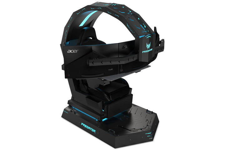 acer predator thronos gaming chair is titanic