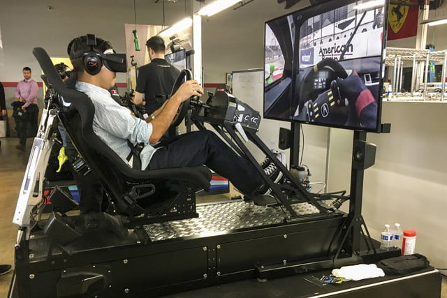 Hands On We Played Project Cars 2 In A Giant Racing Simulator