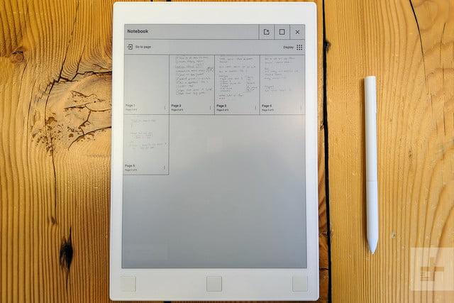 ReMarkable Tablet notebook