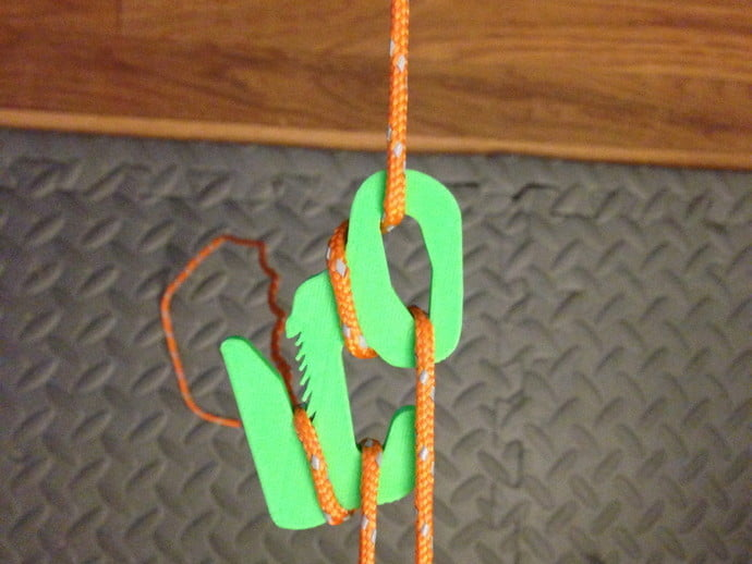 figure 9 rope tightener 3D print backpacking hiking camping