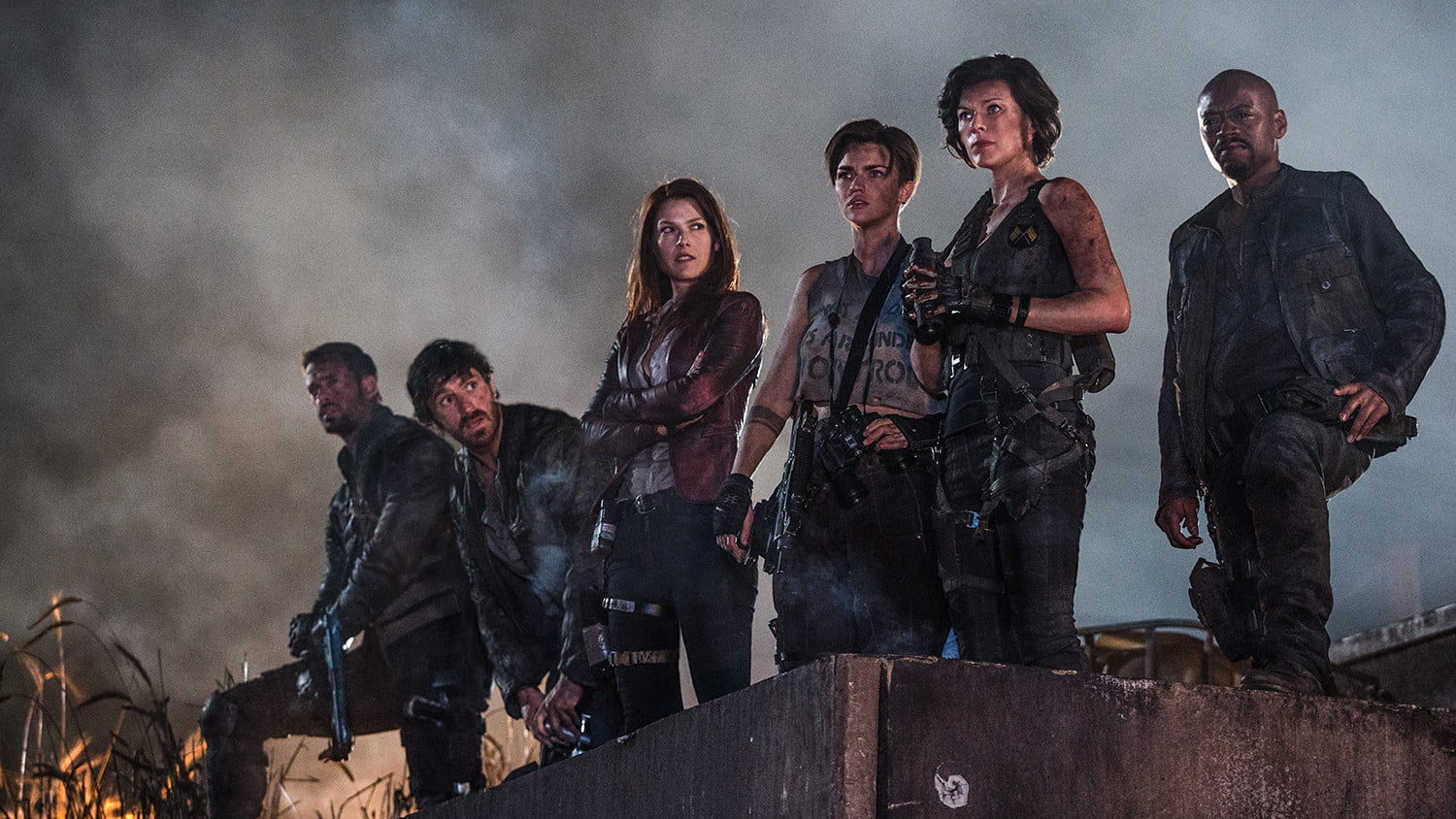 Resident Evil Final Chapter Fan: Resident Evil: The Final Chapter Movie Review
