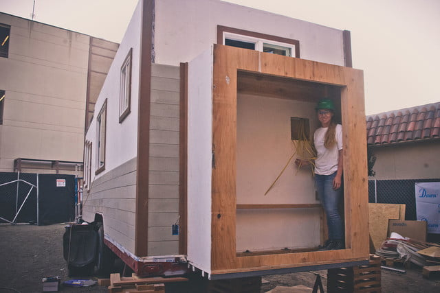 first tiny house competition in the books revolve 5