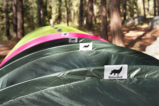 RhinoWolf Modular Attachable Super Tent tag