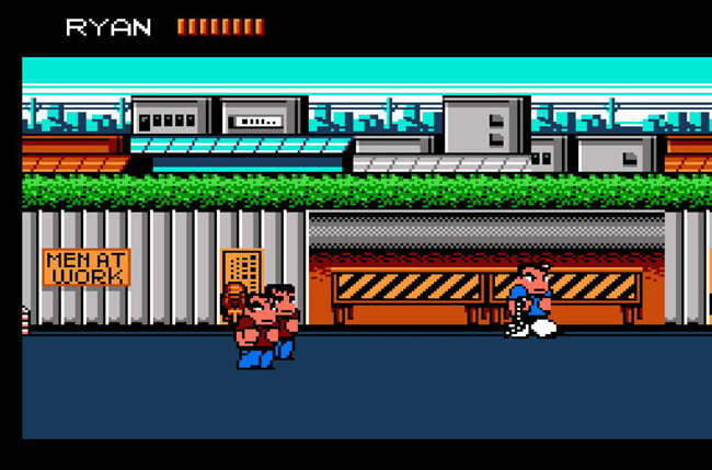best nes games ever river city 1