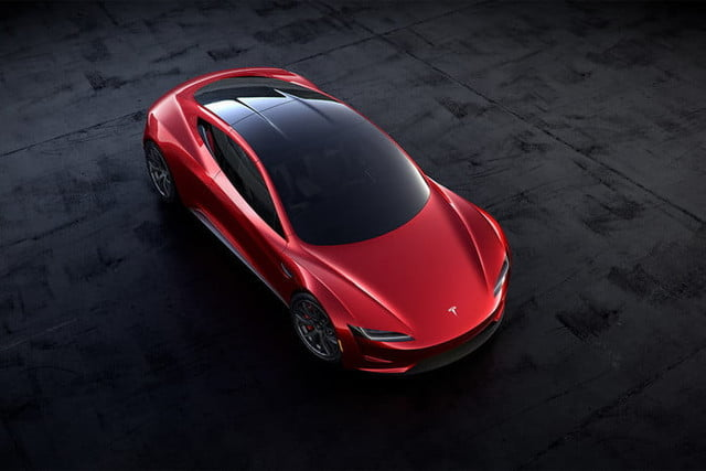 tesla roadster pictures targa closed