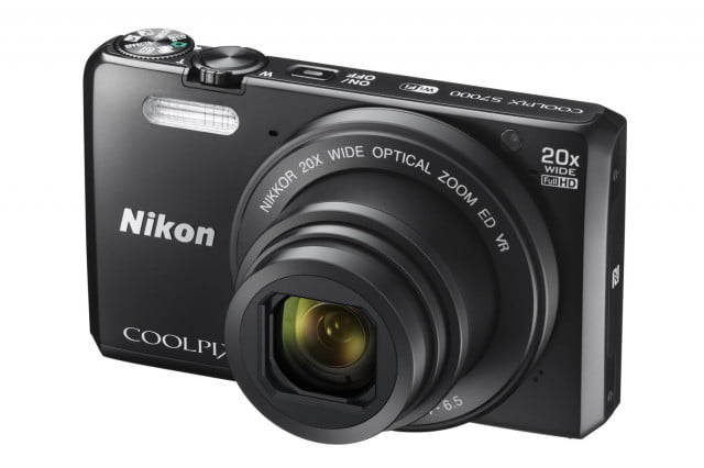 nikon unveils whopping 9 new coolpix point shoots minor updates s7000 bk front34l lo w