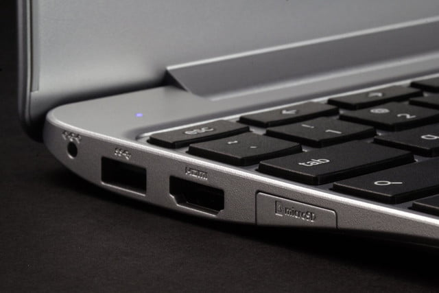 Samsung Chromebook 2 XE500C12-K01US review rear ports