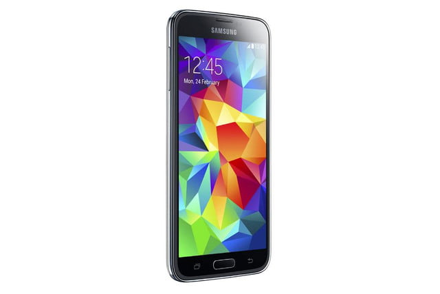 galaxy s5 makes debut samsung unpacked event mwc 2014 black 4