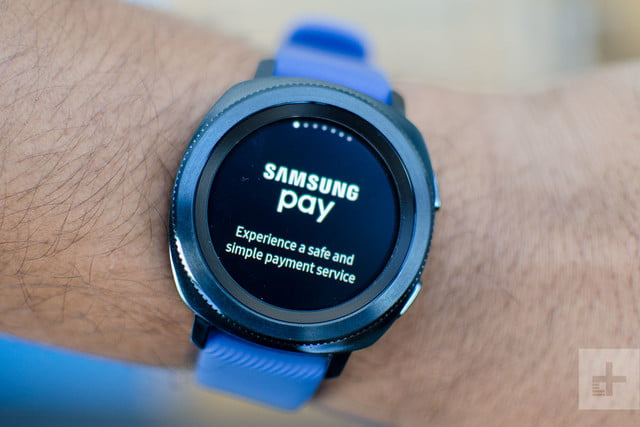 samsung gear sport review pay