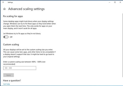 How to Adjust High-DPI Scaling in Windows 10   Digital Trends