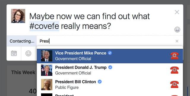 Now you can tag your local politicians on Facebook