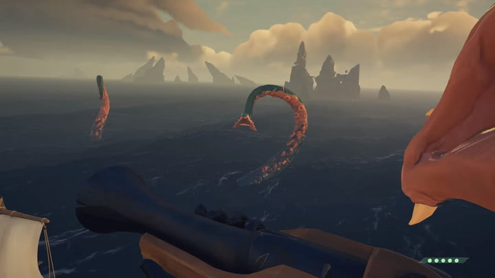Sea of ​​thieves how to defeat the Kraken attacks