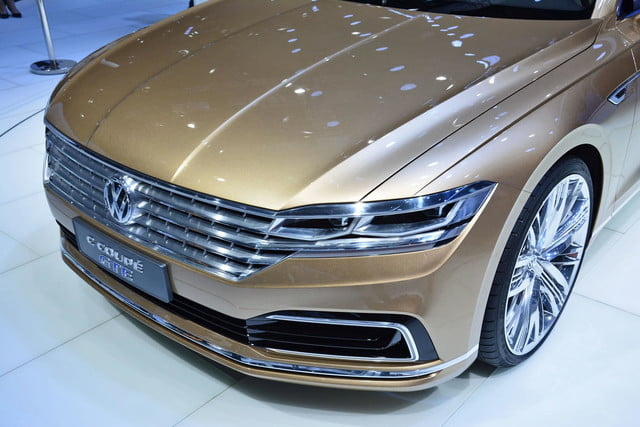 volkswagen c coupe gte concept official pictures and specs shanghai 7