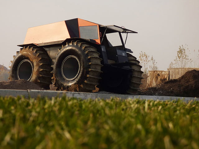 russian sherp atv self inflating tires 0010