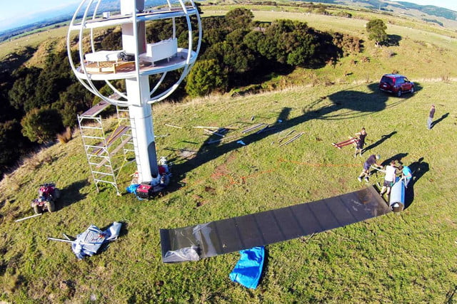 skysphere is a voice controlled man cave 33 feet in the air 11