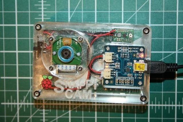 snappicam raspberry pi interchangeable lens camera hack together prototype 3