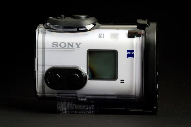 Sony Action Cam 4K case side