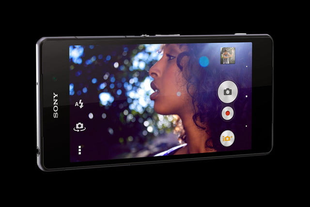 Sony Xperia Z2 front angle