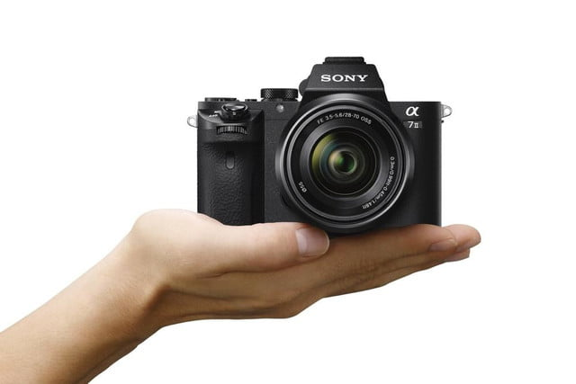 sony alpha a7 ii ilce 7m2 wsel2870 on hand