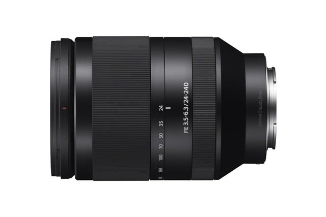 sony strengthens full frame a7 cameras with new macro and zoom lenses sel24240 b