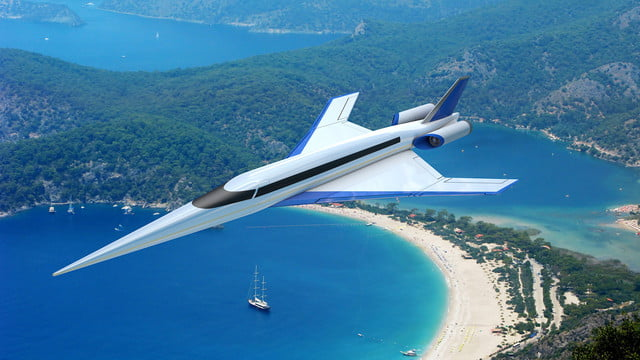 high speed concepts that could mark the return of supersonic travel spike s 512 beach 2