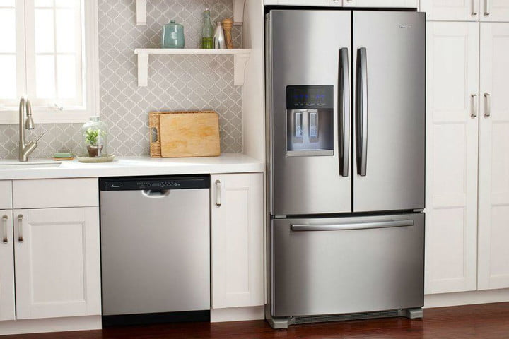best french door refrigerator stainless steel amana refrigerators afi2539erm a0 1000