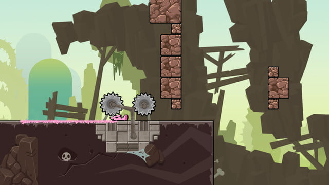 super meat boy forever hands on preview 15000