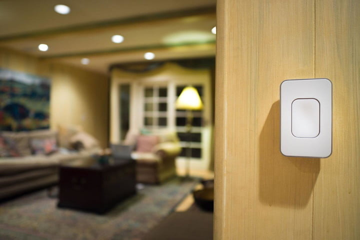 switchmate magnetically attaches to make light switches smart switch