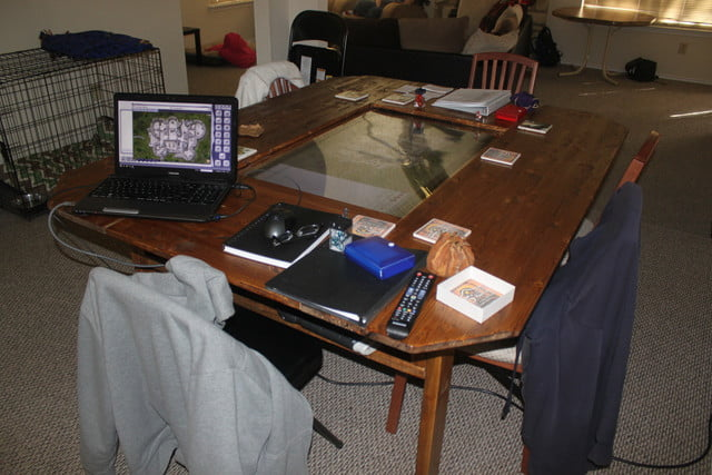 this d u0026d 4k custom table is a dungeon master u0026 39 s dream